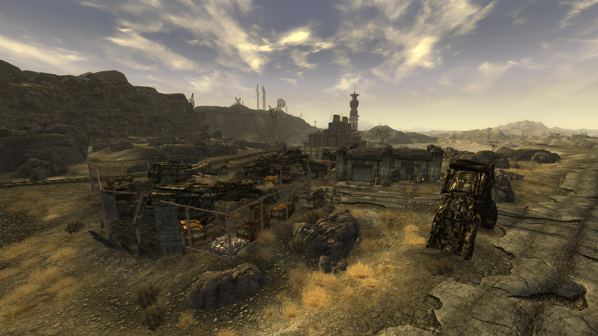 Gibson Scrap Yard The Vault Fallout Wiki Everything
