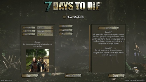 Game Settings - Official 7 Days to Die Wiki
