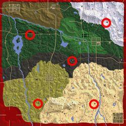 Karte aus der Alpha 17