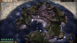 Landfall, a plot-relevant port.
