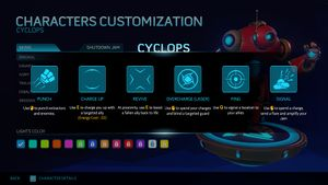 Cyclops Help Screen