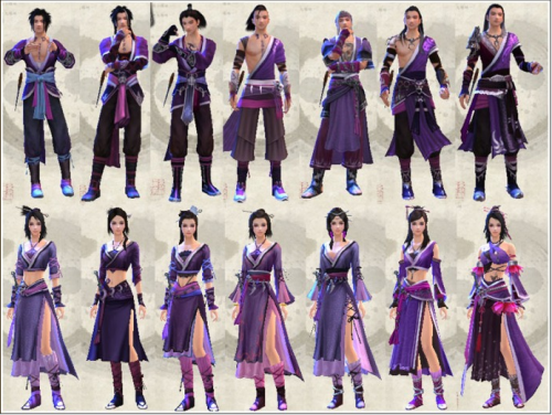 Blissful Valley Outfits.png