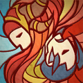 Stained Glass Alexstrasza and Hanzo Portrait.png