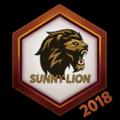 Sunny Lion 2018 Logo Spray.png