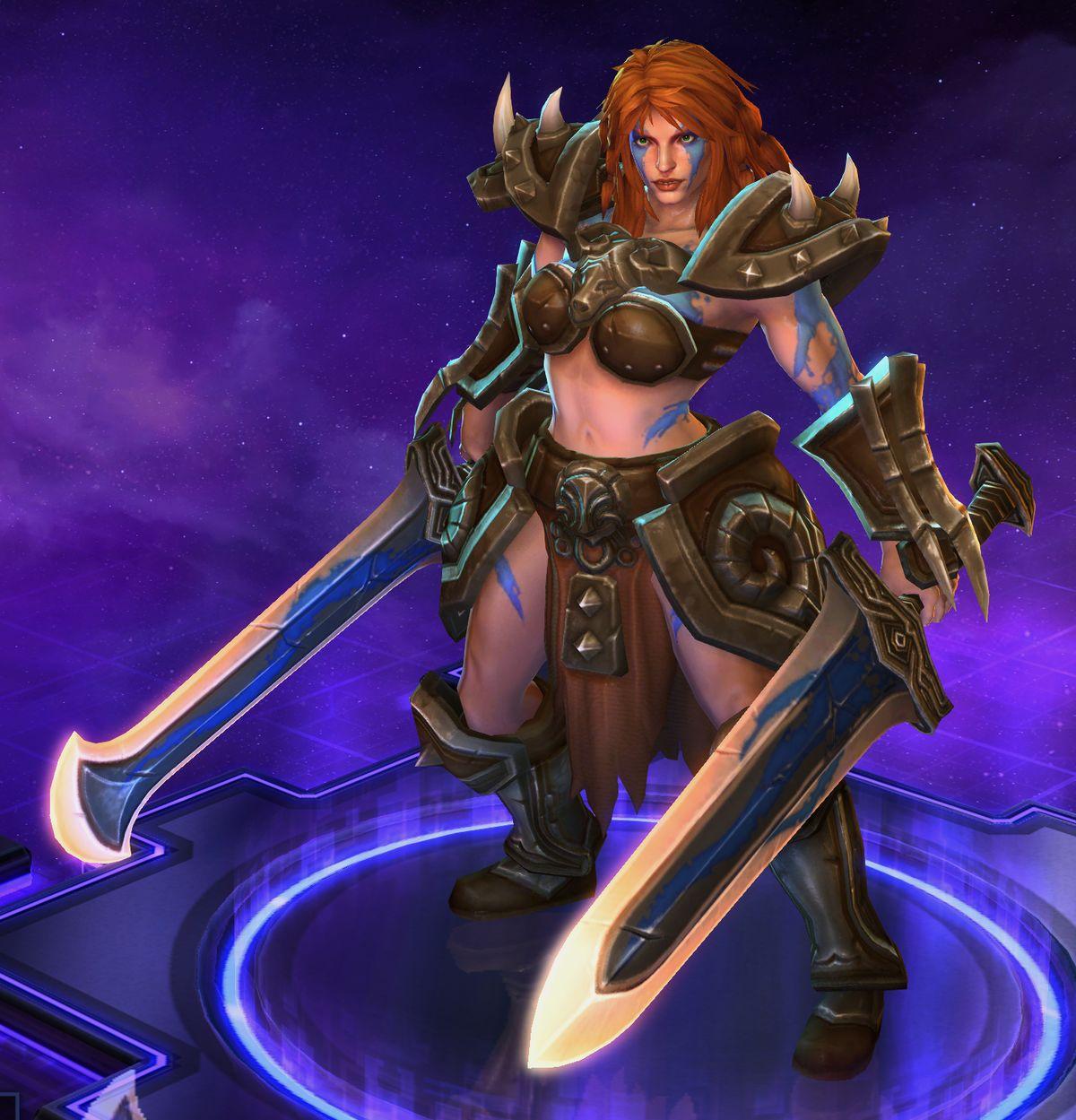 Sonya Heroes Of The Storm