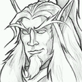 Sketch Blood Elf Portrait.png