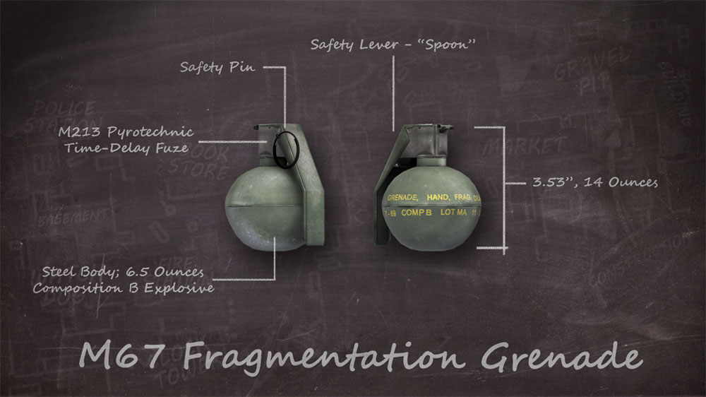 M67 Fragmentation Grenade - Official America's Army Wiki