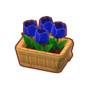 Furniture Potted Blue Tulips.png