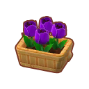 Furniture Potted Purple Tulips.png