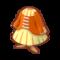 Orange Lace-Up Dress.png
