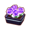 Furniture Potted G. Purple Roses.png
