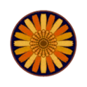 Car rug round flower.png