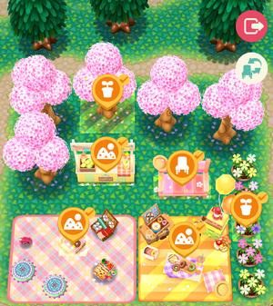 Spring Picnic Room 3 - Animal Crossing: Pocket Camp Wiki