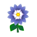 Blue Dahlias.png