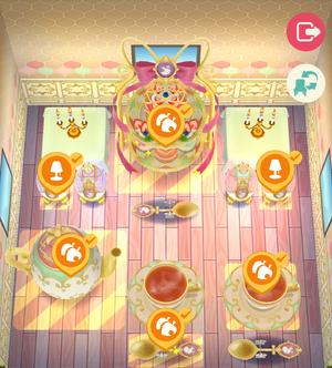 Royal Tea Party Room 3 - Animal Crossing: Pocket Camp Wiki