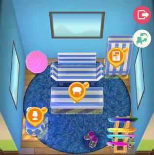 Striped Room - Animal Crossing: Pocket Camp Wiki