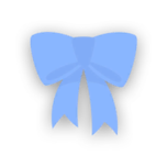 Clothes bow blue-resources.assets-1537.png