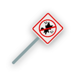 Melee sign.png