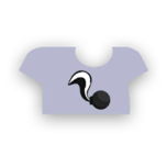 Clothes tshirt skunk.png