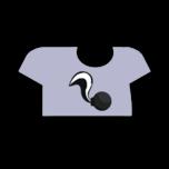 Clothes tshirt skunk.png