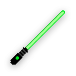 Melee lightsaber green-resources.assets-216.png