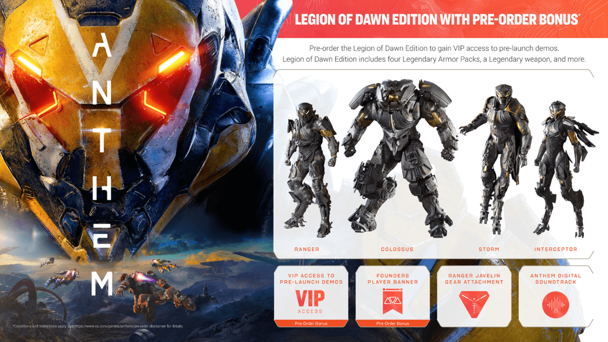 Armor Pack Anthem Wiki
