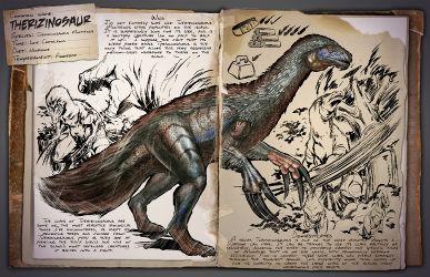 Nombre común: Therizinosaurio