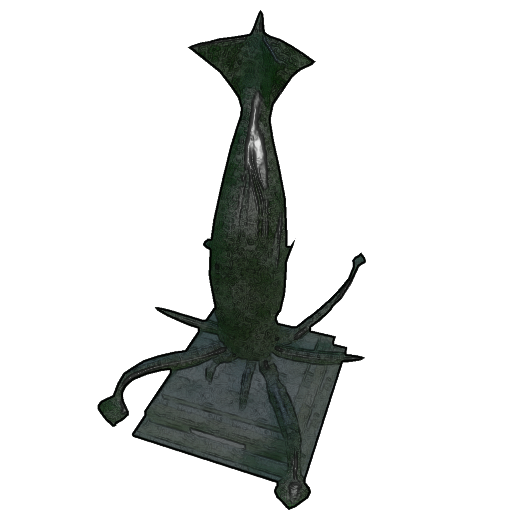 Tusoteuthis Statue Mobile Official Ark Survival Evolved Wiki