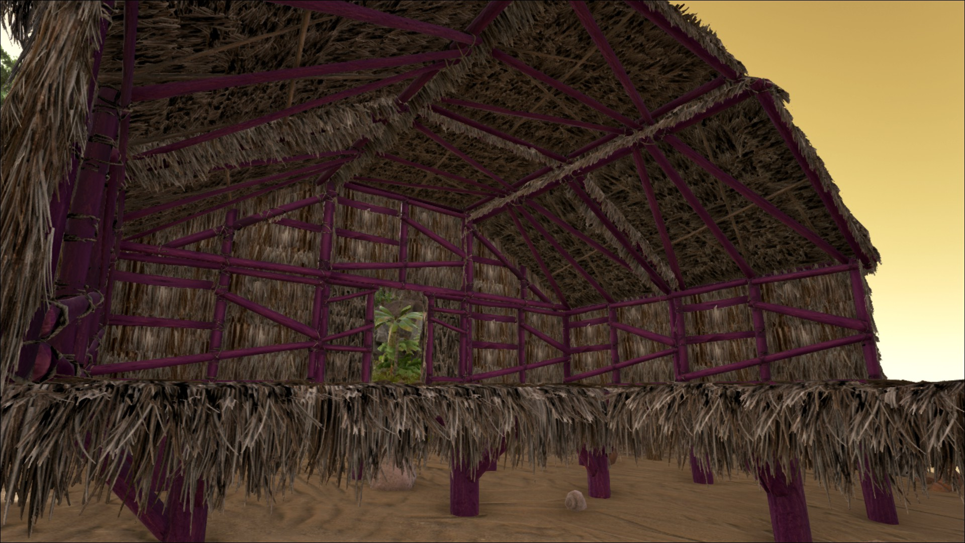 Sloped Thatch Roof - Official ARK: Survival Evolved Wiki