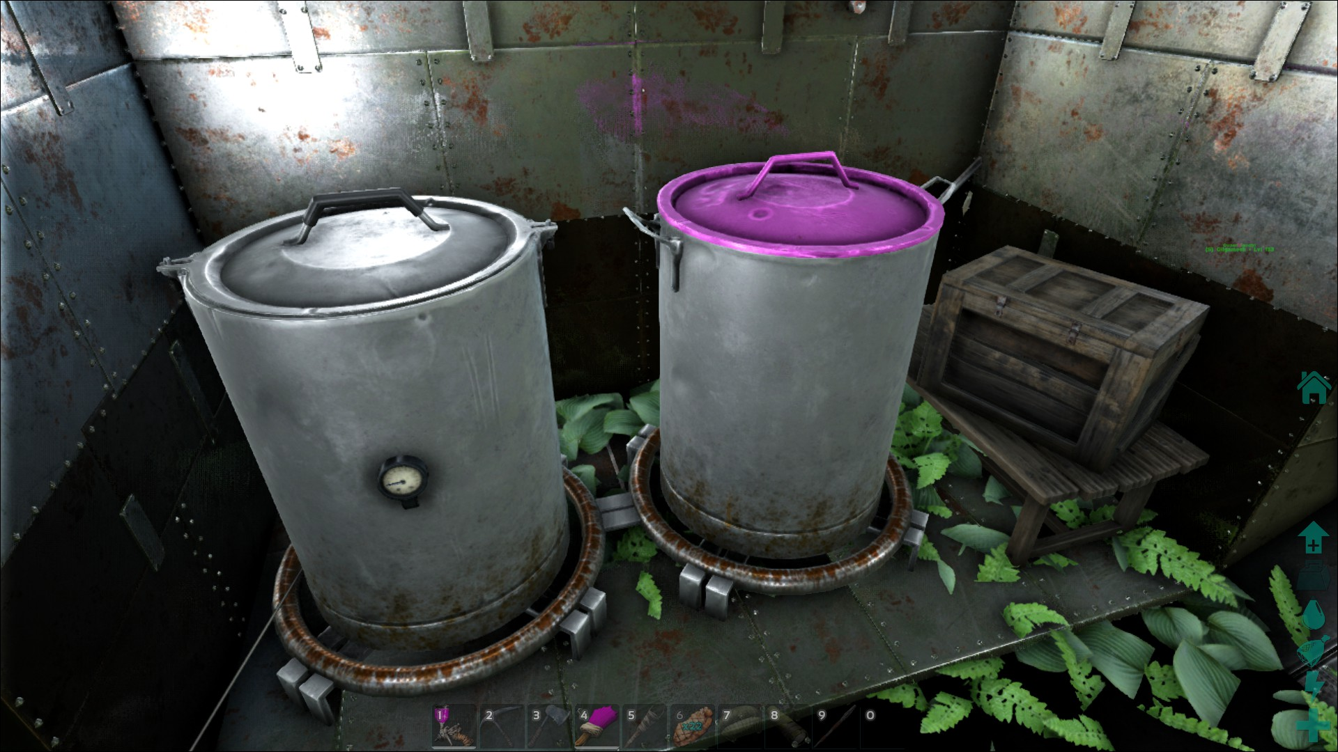 Ark Spray Paint How To Enable Regions