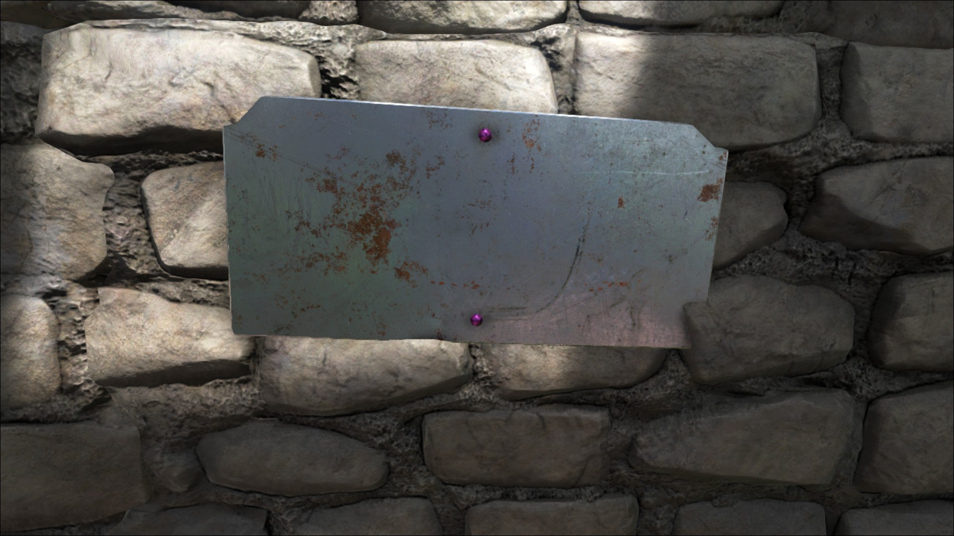 Metal Wall Sign - Official ARK: Survival Evolved Wiki