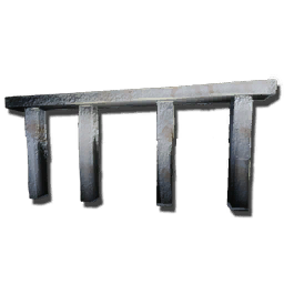 Metal Fence Foundation Official Ark Survival Evolved Wiki