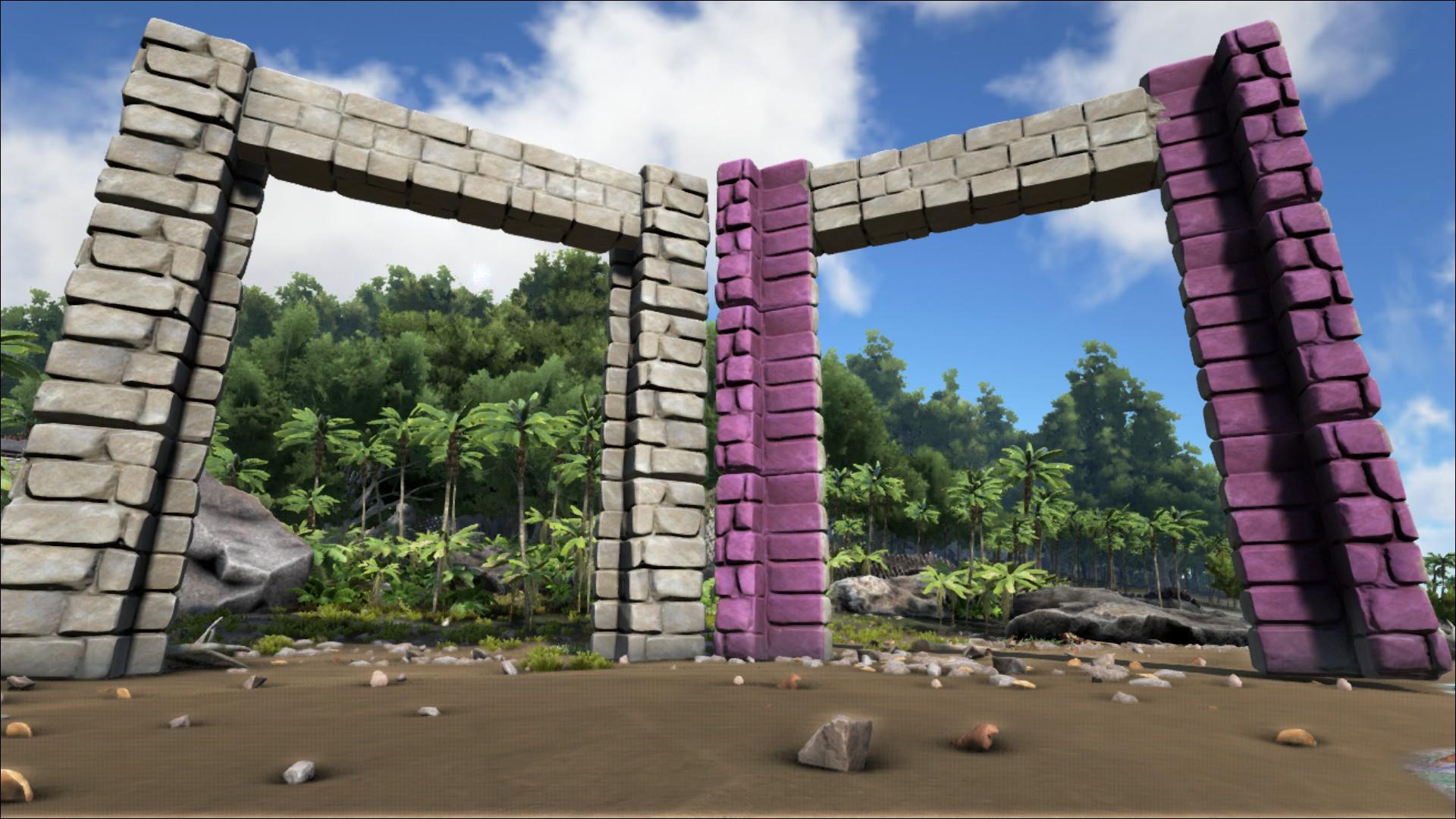 Behemoth Stone Dinosaur Gateway Official Ark Survival