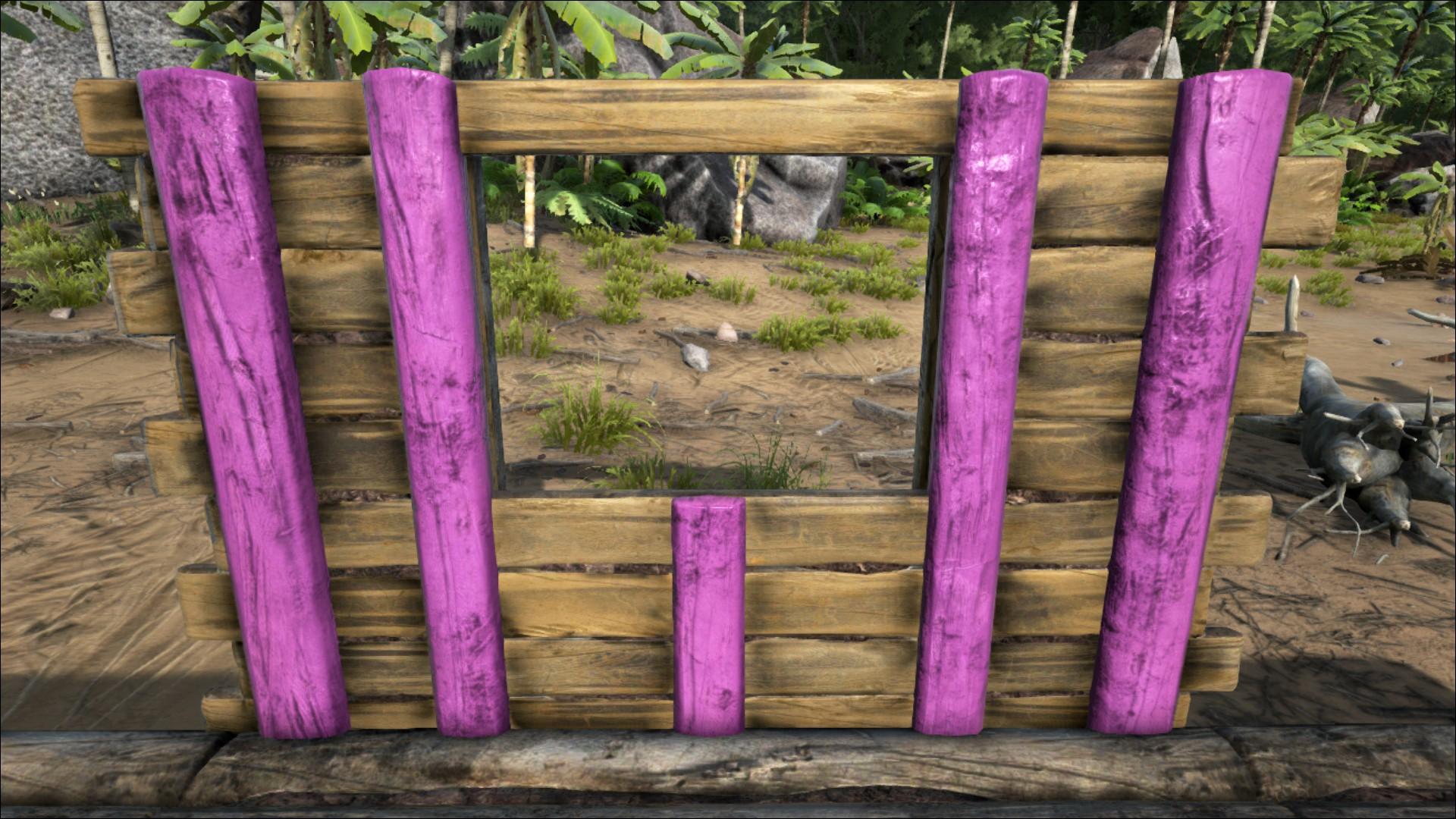 Wooden Windowframe Official Ark Survival Evolved Wiki