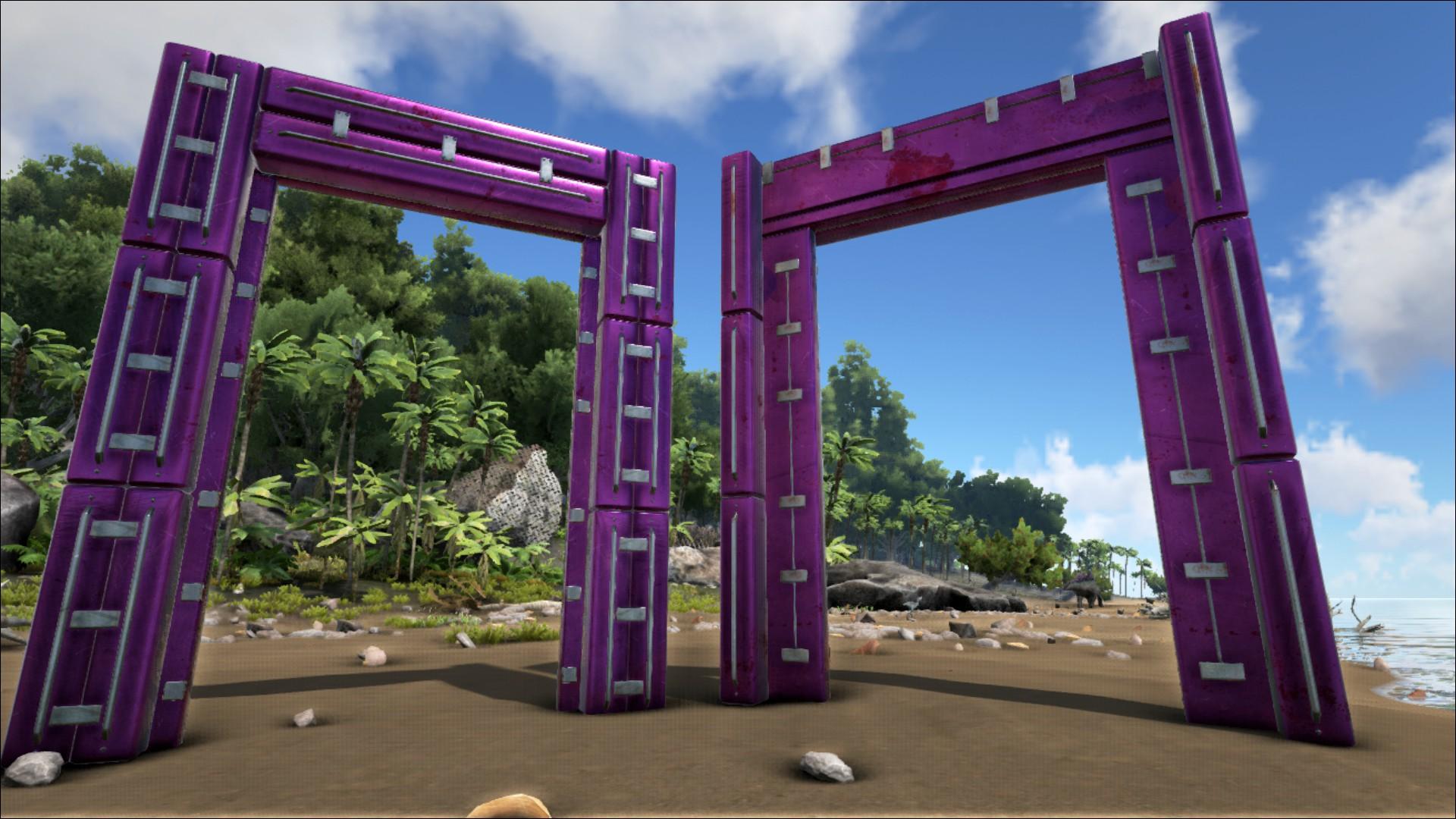 Metal Dinosaur Gateway Official Ark Survival Evolved Wiki