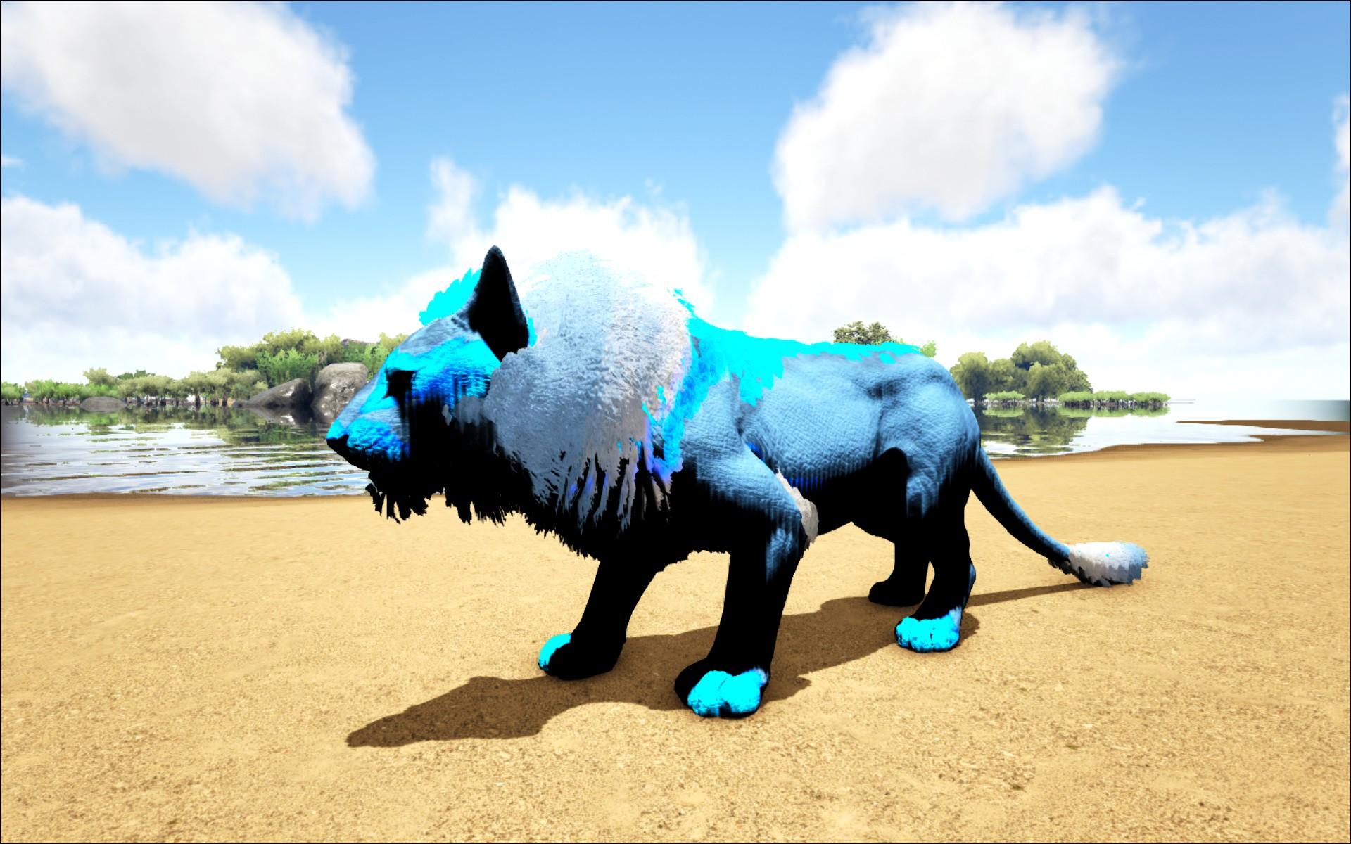 Ark Wood Elevator elemental ice lion - official ark: survival evolved wiki