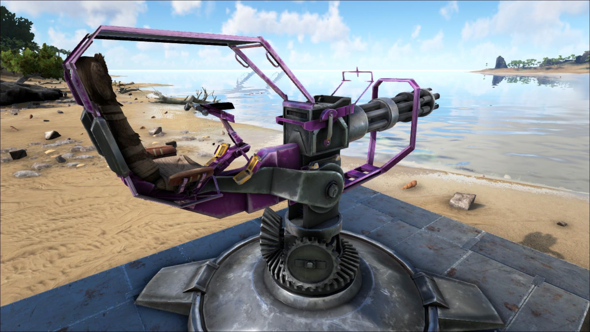 ark heavy turret dps
