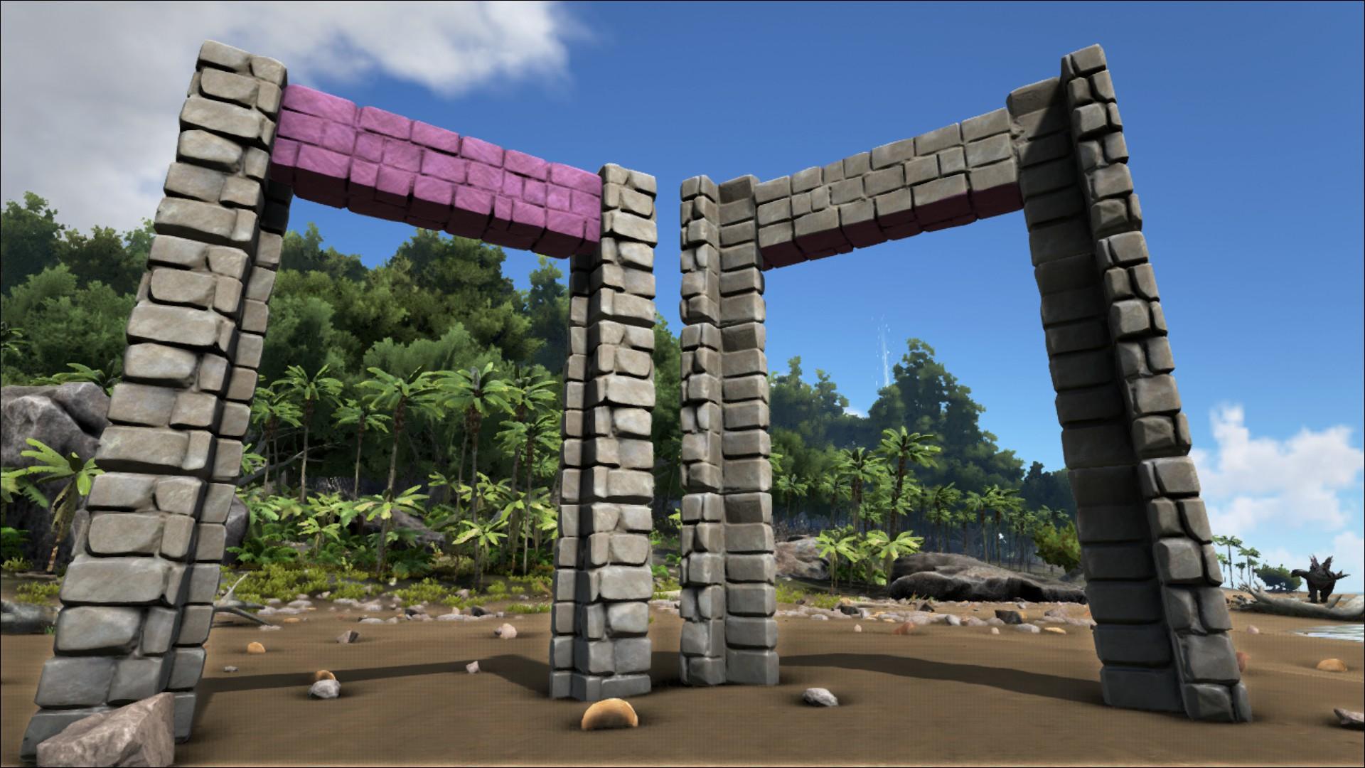 Stone Dinosaur Gateway - Official ARK: Survival Evolved Wiki