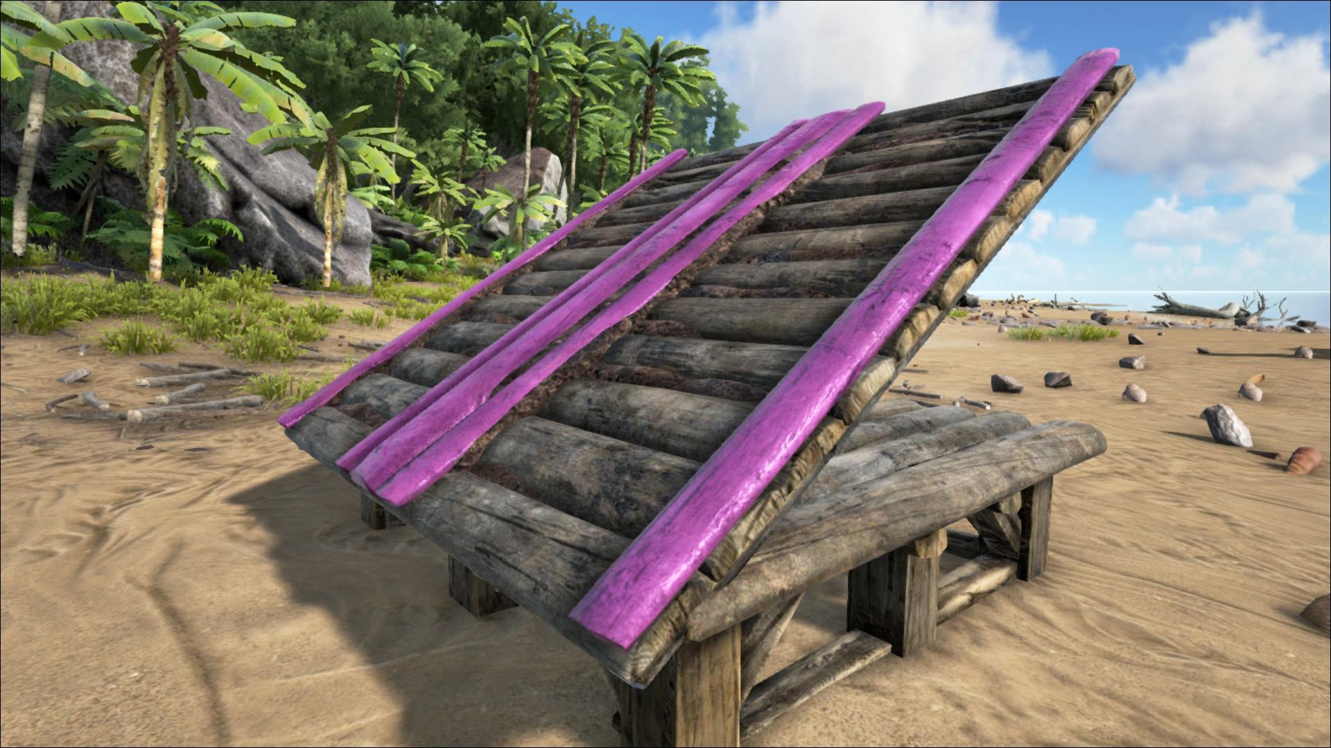 Sloped Wooden Roof Official Ark Survival Evolved Wiki