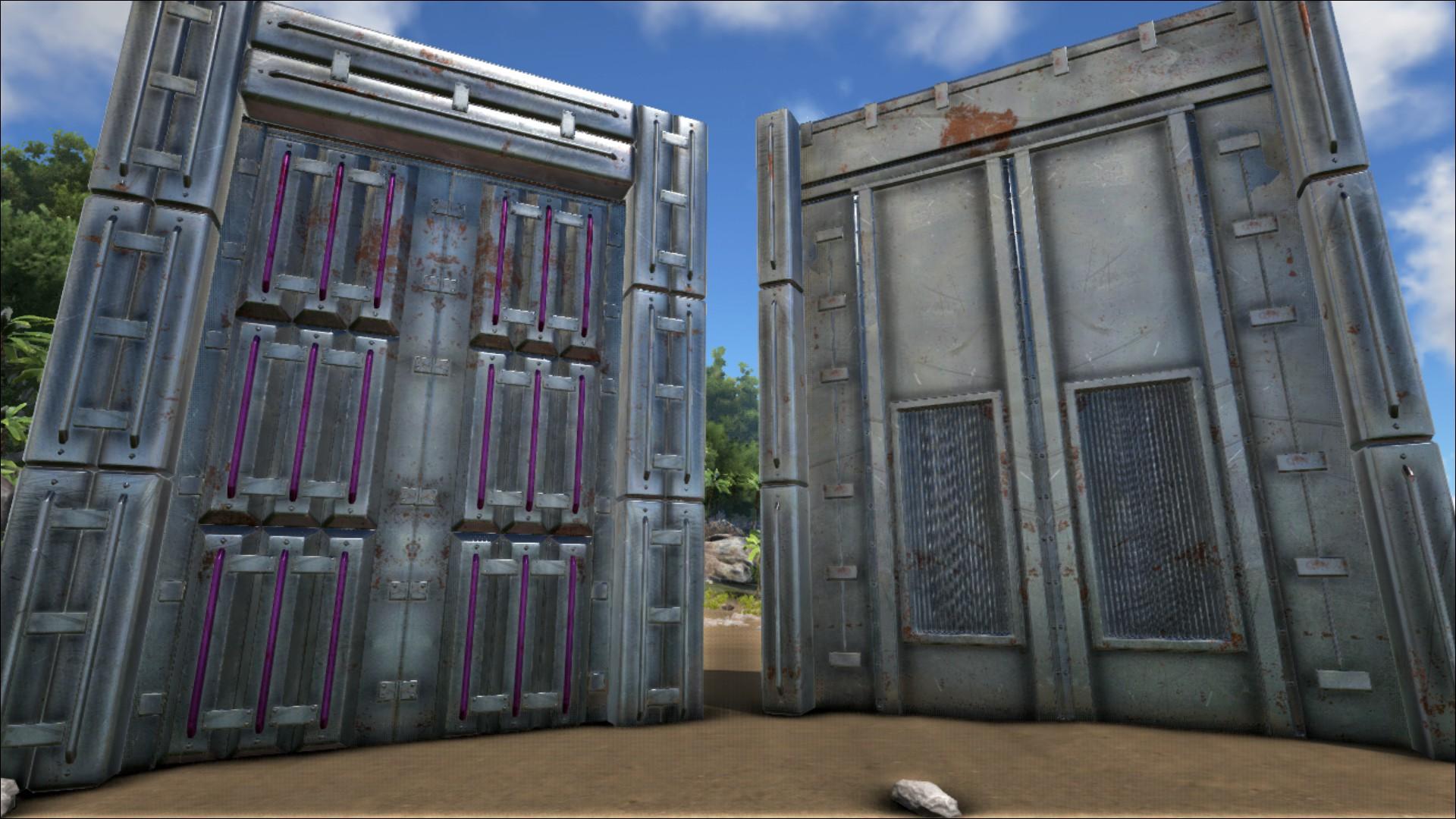 Metal Dinosaur Gate - Official ARK: Survival Evolved Wiki