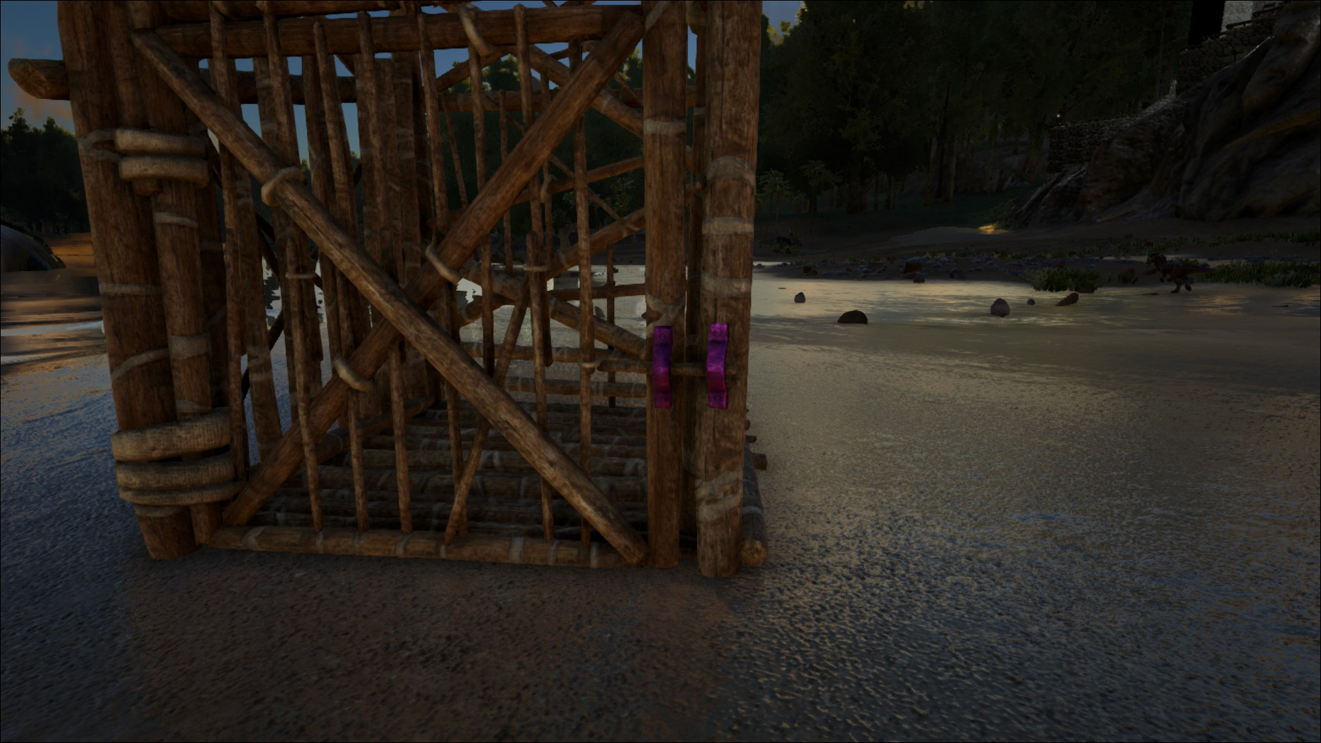 Wooden Cage Official Ark Survival Evolved Wiki
