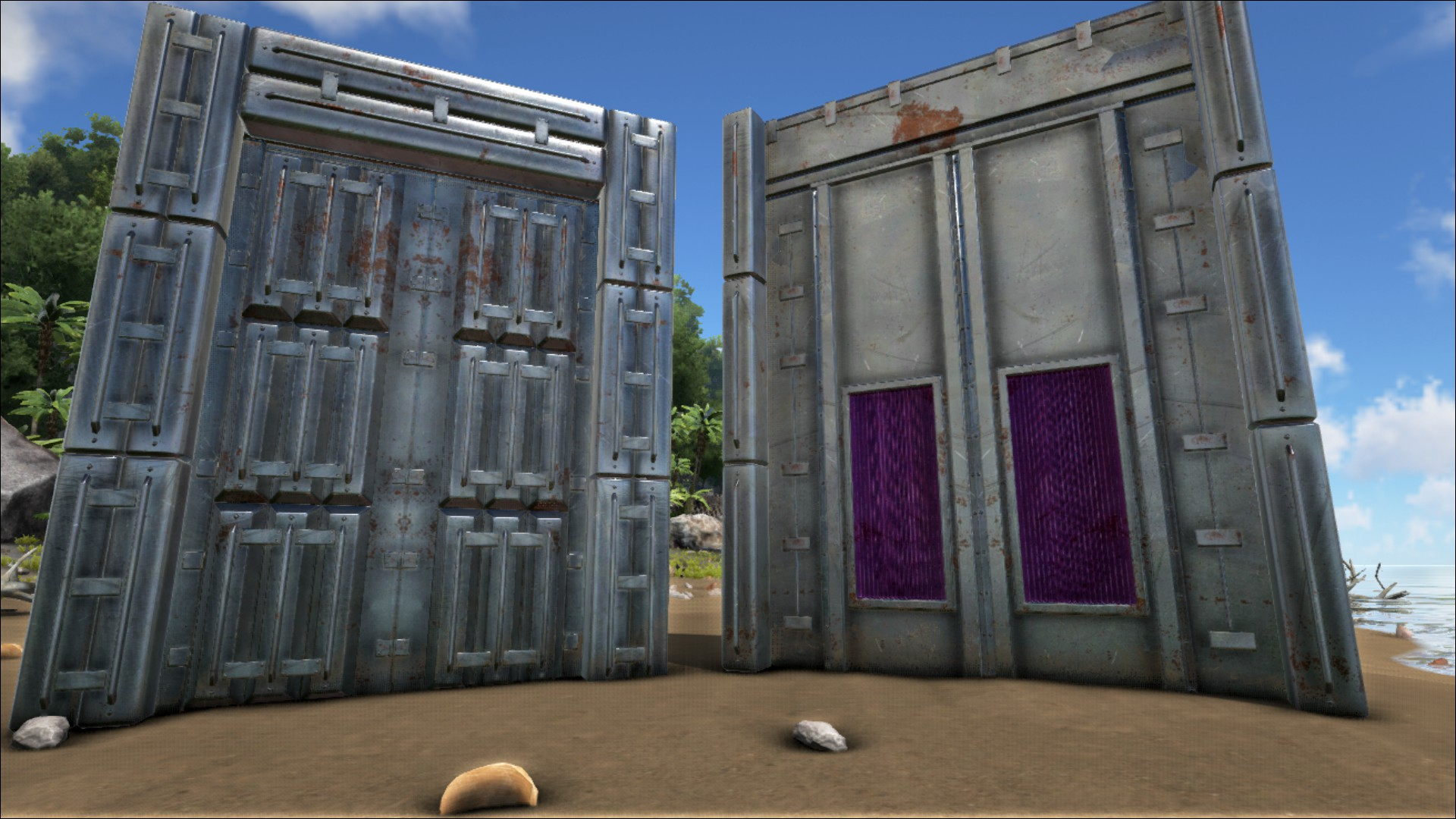 Metal Dinosaur Gate Official Ark Survival Evolved Wiki