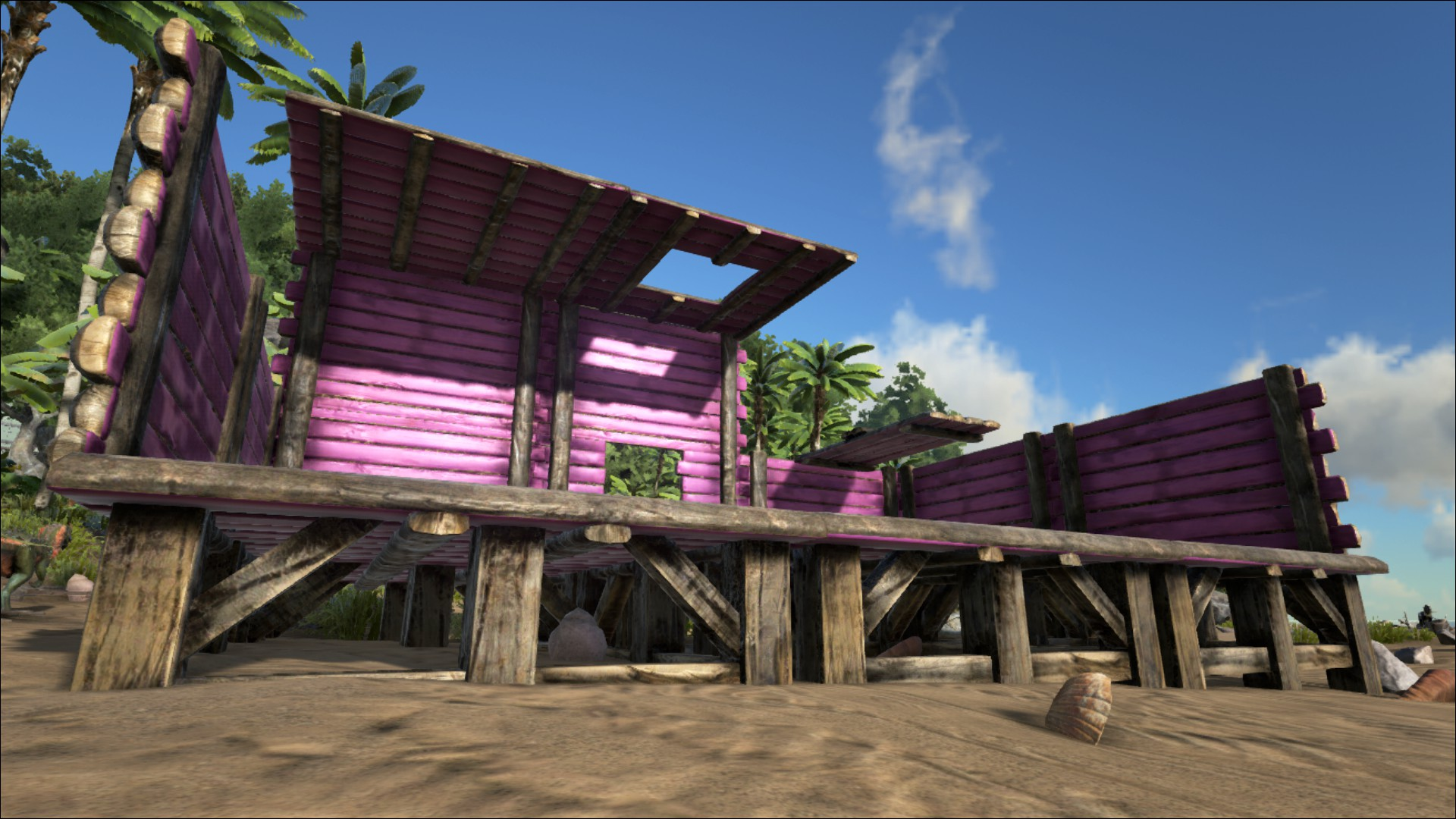 Wooden Foundation Official Ark Survival Evolved Wiki