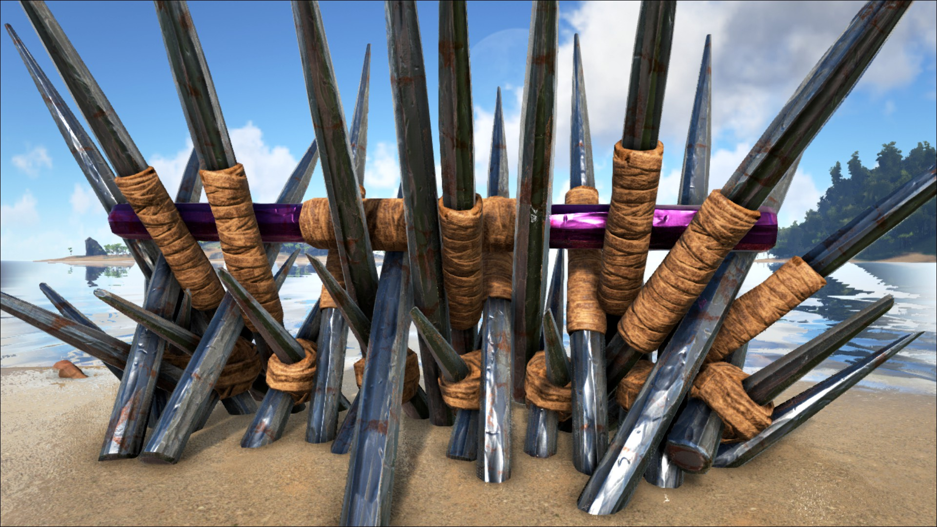 Metal Spike Wall - Official ARK: Survival Evolved Wiki