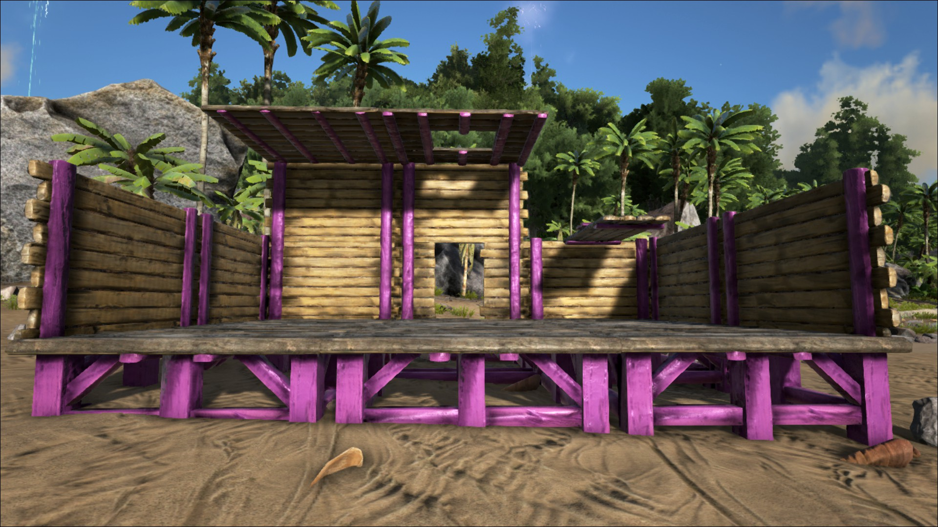 Wooden Doorframe - Official ARK: Survival Evolved Wiki on