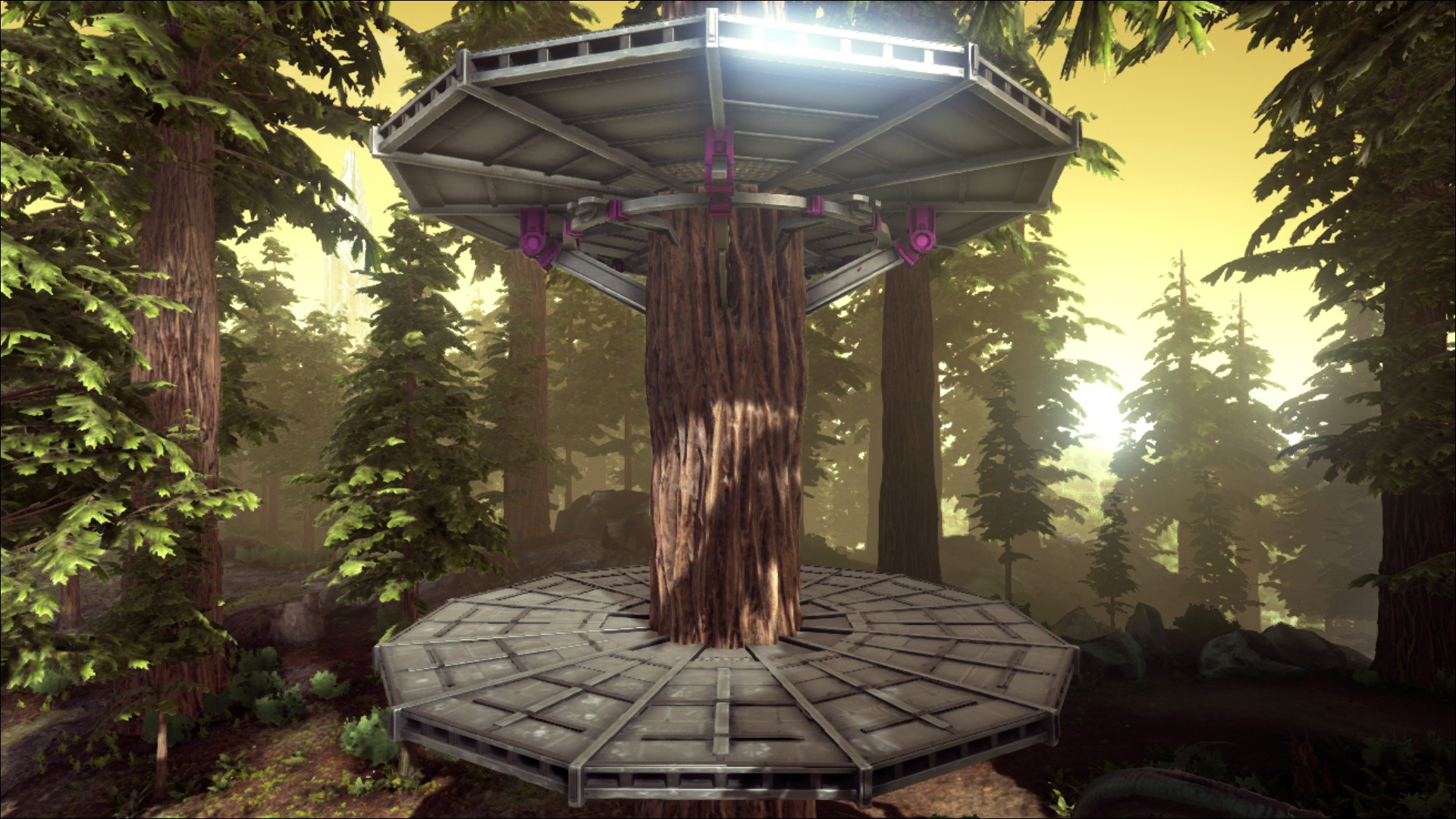 Metal Tree Platform Official Ark Survival Evolved Wiki