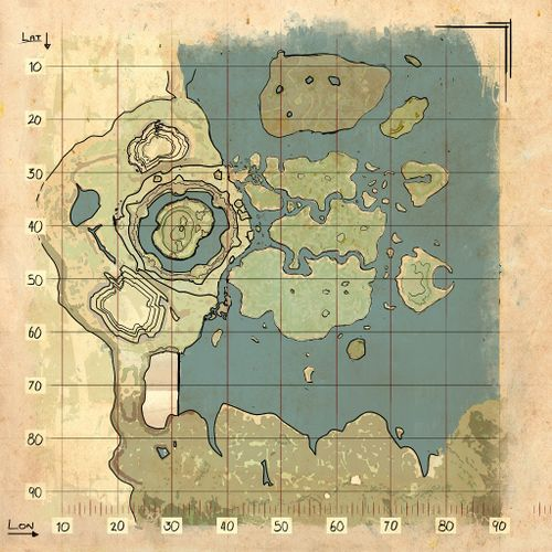 Ark Elevation Map.Ark Official Ark Survival Evolved Wiki