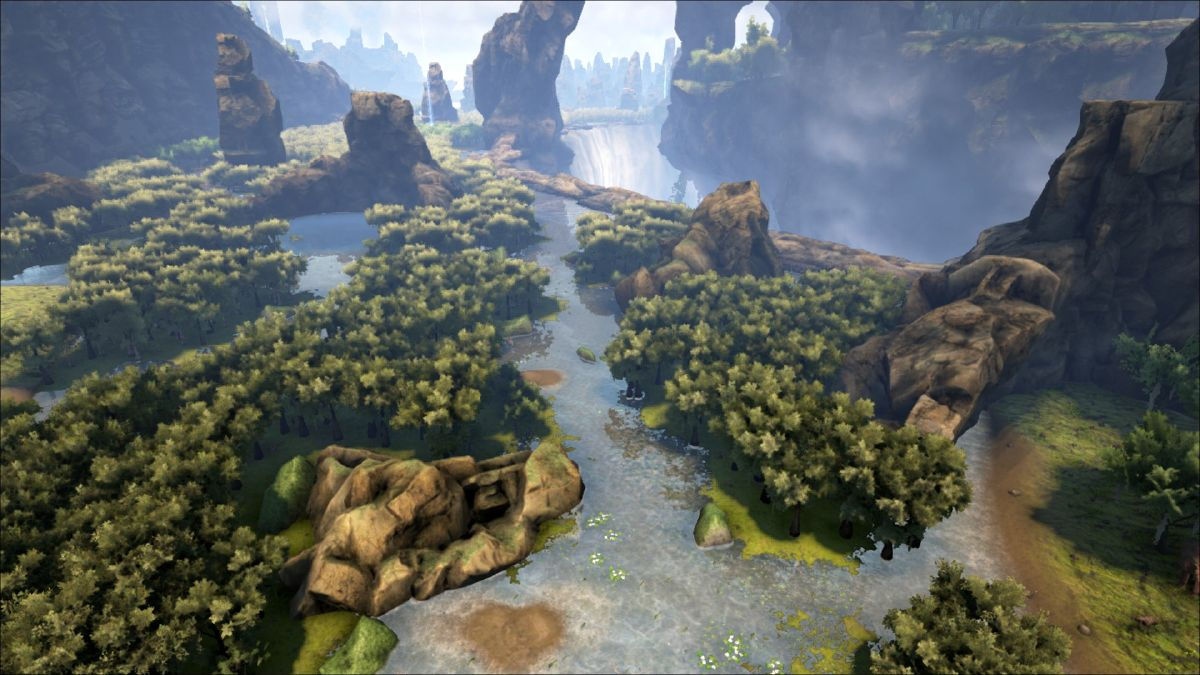 Swamp (The Center) - Official ARK: Survival Evolved Wiki