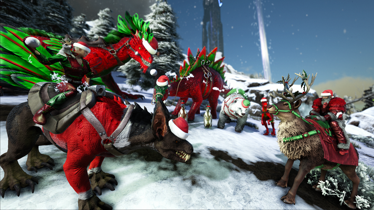 Ark Survival Evolved Christmas Event.Holiday Event Official Ark Survival Evolved Wiki
