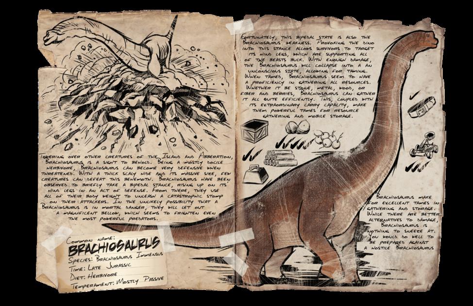 Brachiosaurus Official Ark Survival Evolved Wiki